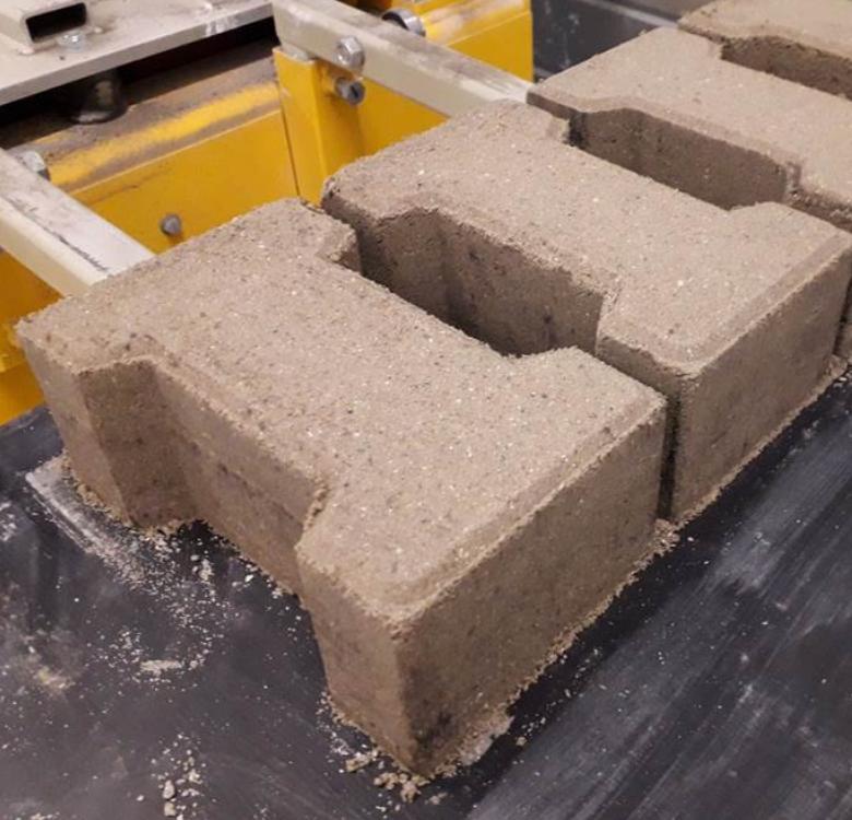 neo block béton à base de sédiment