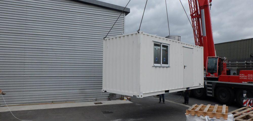 équipements de l'IMT Lille-Douai pour valoriser des sédiments