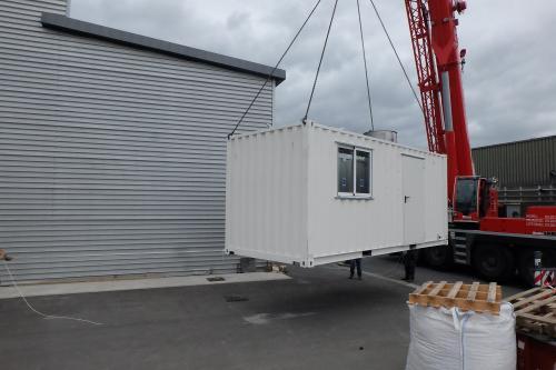 Livraison four flash calcination à IMT Lille-Douai-2
