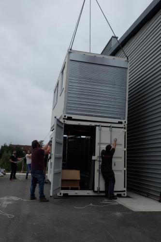 Livraison four flash calcination à IMT Lille-Douai-4